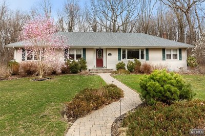 Franklin Lakes Single Family Home For Sale: 1033 Sioux Lane