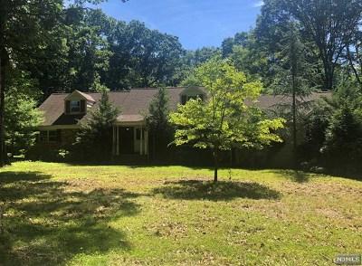 Saddle River Single Family Home For Sale: 84 Chestnut Ridge Road