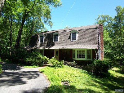 Upper Saddle River Single Family Home For Sale: 20 Ridge Road