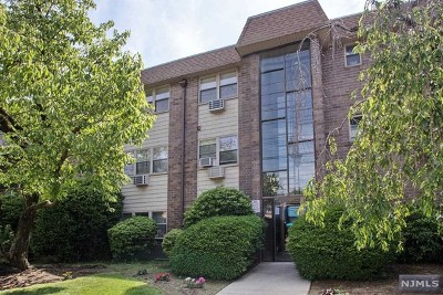 Ridgefield Park Condo/Townhouse For Sale: 199 Bergen Turnpike #1e