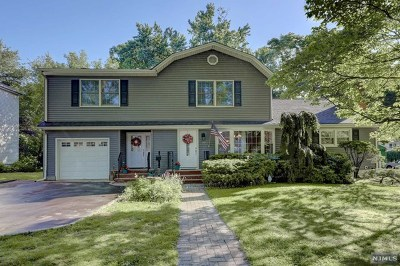 Paramus NJ Single Family Home For Sale: $695,000