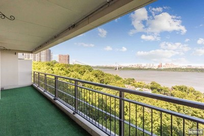 Fort Lee Condo/Townhouse For Sale: 4 Horizon Road #811