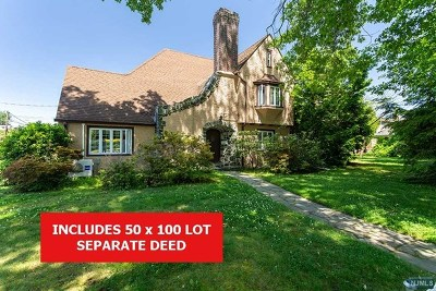 Rutherford Single Family Home For Sale: 124 Fairview Avenue