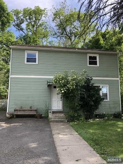 Pompton Lakes Single Family Home For Sale: 38 Willard Street
