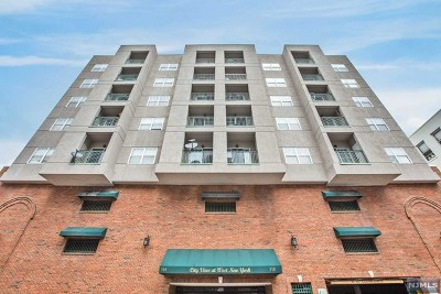 West New York NJ Condo/Townhouse For Sale: $245,000