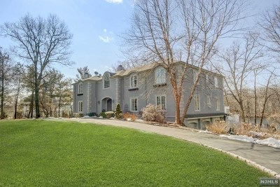 Franklin Lakes Single Family Home For Sale: 272 Terrace Road