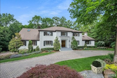 Franklin Lakes Single Family Home For Sale: 807 Ontario Court