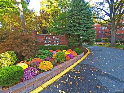 Fort Lee Condo/Townhouse For Sale: 2350 Linwood Avenue #2d