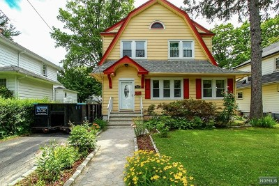 Teaneck Single Family Home For Sale: 506 Cumberland Avenue