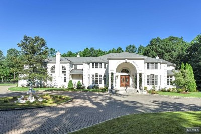 Saddle River Single Family Home For Sale: 23 Cameron Road