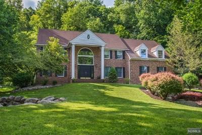 Mahwah Single Family Home For Sale: 83 Bridle Path Lane