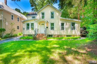 Demarest Single Family Home For Sale: 16 Sunset Road