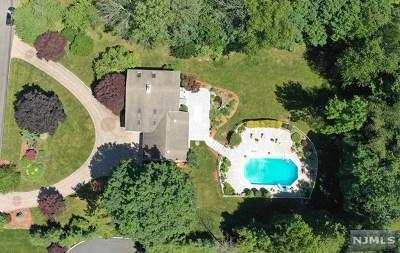 Upper Saddle River Single Family Home For Sale: 18 Cherry Lane