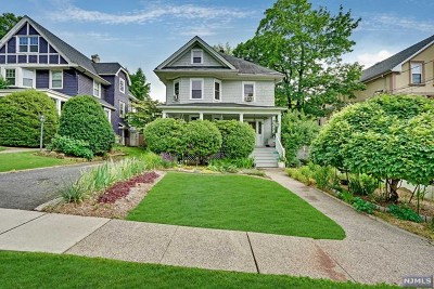 Englewood Single Family Home For Sale: 60 Franklin Street