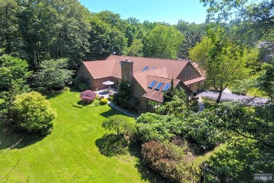 Franklin Lakes Single Family Home For Sale: 713 Horseshoe Trail