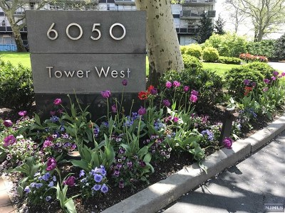 West New York Condo/Townhouse For Sale: 6050 Boulevard East #14j
