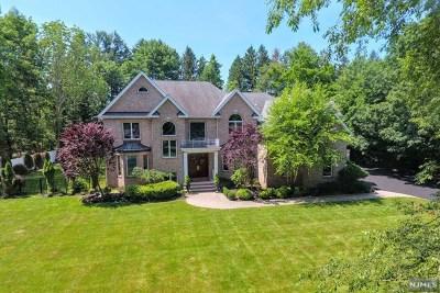 Upper Saddle River Single Family Home For Sale: 4 Jan River Drive