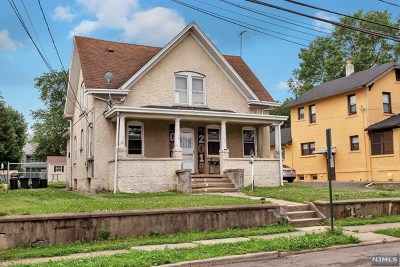 East Rutherford Multi Family 2-4 For Sale: 126 Humboldt Street