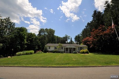 Upper Saddle River Single Family Home For Sale: 16 Echo Ridge Road