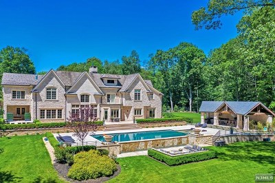 Saddle River Single Family Home For Sale: 1 Scheffler Drive