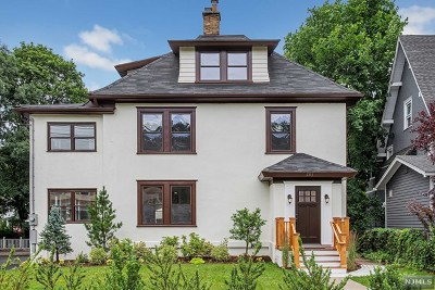 Essex County Single Family Home For Sale: 283 Orange Road