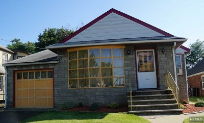 Hasbrouck Heights Single Family Home For Sale: 304 Ottawa Avenue