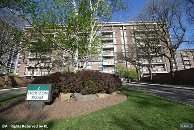 Fort Lee Condo/Townhouse For Sale: 2 Horizon Road #g9