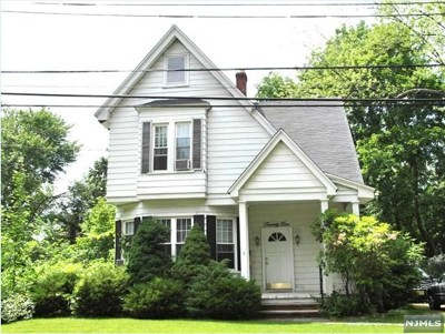 Demarest Single Family Home For Sale: 25 Blanche Avenue