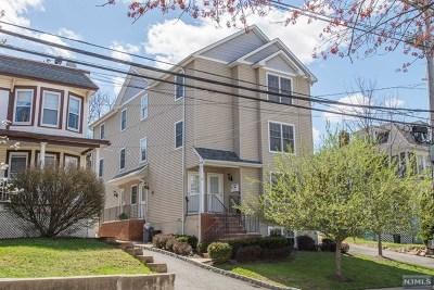 Morristown Town Condo/Townhouse For Sale: 69 Abbett Avenue #3