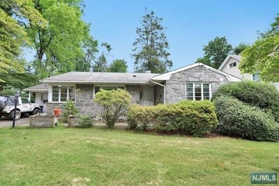 Tenafly Single Family Home For Sale: 137 Columbus Drive