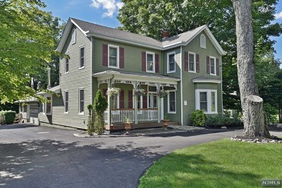 Upper Saddle River Single Family Home For Sale: 477 East Saddle River Road