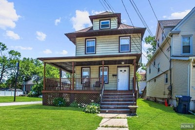 Hackensack Single Family Home For Sale: 330 1st Street