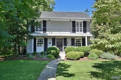 Ho-Ho-Kus Single Family Home For Sale: 37 Van Dyke Drive