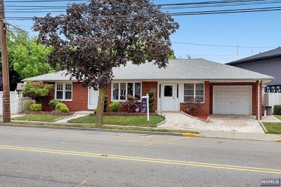 Hudson County Single Family Home For Sale: 1450 Paterson Plank Road