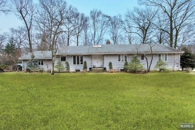 Woodcliff Lake Single Family Home For Sale: 5 Anderson Court