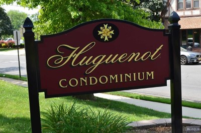 Englewood Condo/Townhouse For Sale: 100 Huguenot Avenue #3b