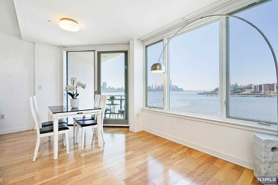 Weehawken NJ Condo/Townhouse For Sale: $799,000