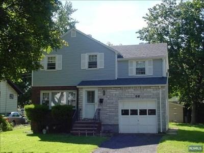 Teaneck Single Family Home For Sale: 66 Washington Place