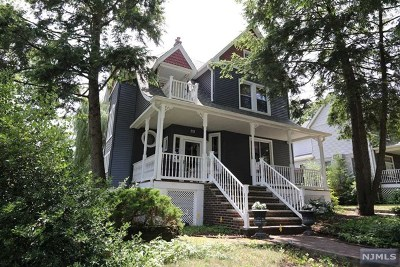 River Edge Single Family Home For Sale: 33 Washington Avenue