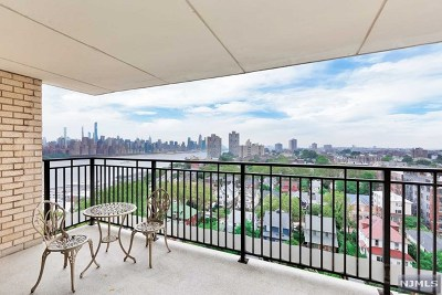 Hudson County Condo/Townhouse For Sale: 7855 Boulevard East #12l