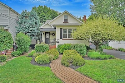 Rutherford Single Family Home For Sale: 414 Union Avenue