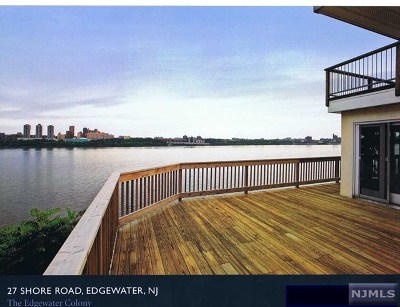 Edgewater Single Family Home For Sale: 27 Shore Road