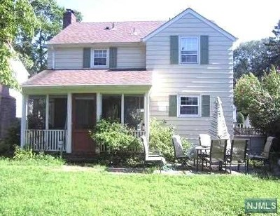 Fair Lawn Single Family Home For Sale: 12 Ramapo Terrace