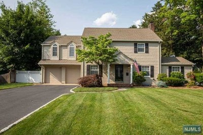 Woodcliff Lake Single Family Home For Sale: 5 Lakeview Terrace
