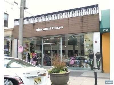 Englewood Commercial For Sale: 70 West Palisade Avenue