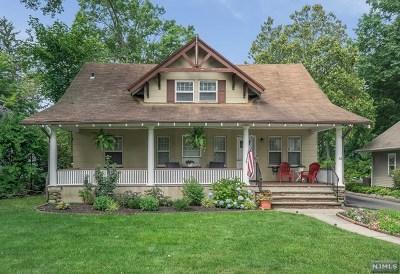 Glen Rock Single Family Home For Sale: 38 Bradford Street