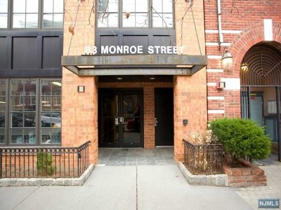 Hudson County Condo/Townhouse For Sale: 83 Monroe Street #4b