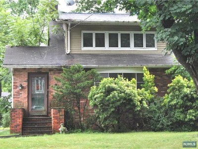 Closter Single Family Home For Sale: 368 Durie Avenue