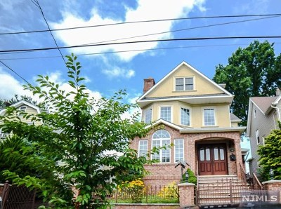 Hudson County Single Family Home For Sale: 479 Devon Street