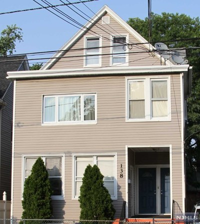 Passaic County Multi Family 2-4 For Sale: 138 Grove Street